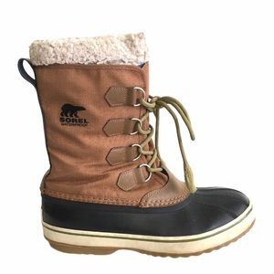 SOREL Men's 1964 Pac Nylon Winter Boots Brown 9